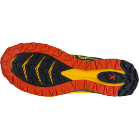 La Sportiva Jackal Scarpe da corsa Uomo, black/yellow